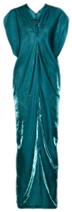A gorges teal gown for the Oscars!  Follow WiShi.me (where friends can style friends!)  For all of your red carpet inspiration this award season!