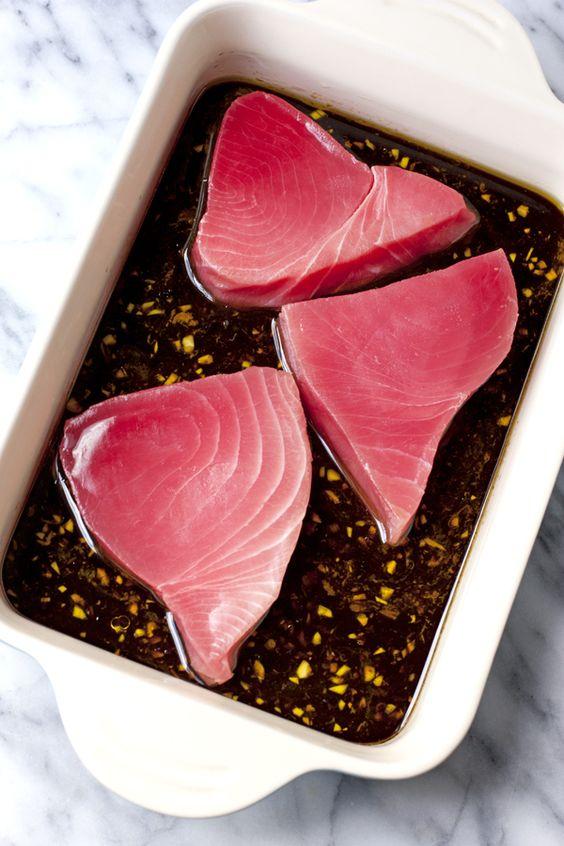 Seared Ahi Tuna Salad