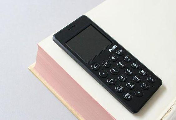 MP01 MOBILE PHONE by Jasper Morrison + Punkt
