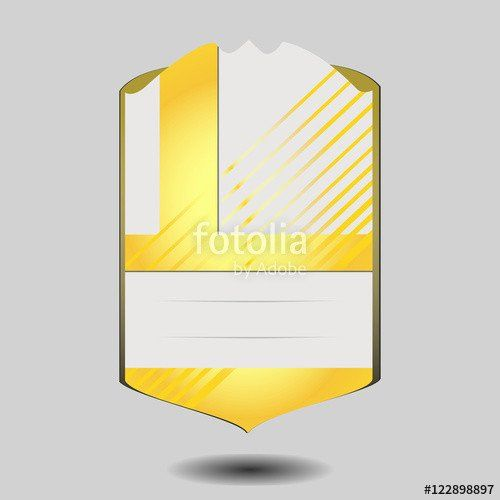Soccer Player Cards Template Lovely Vector Football Player Card Template Isolated On Gray Player Card Soccer Players Trading Card Template