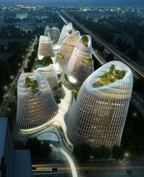 Shan-Shui City, China: Futuristic Architecture, Mad Architects, Architecture Building, Amazing Place, Shui City, Architecture Design, Amazing Architecture