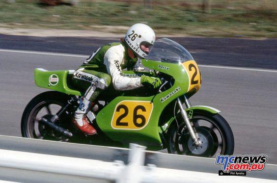 Rick Perry/Kawasaki H2R 750.