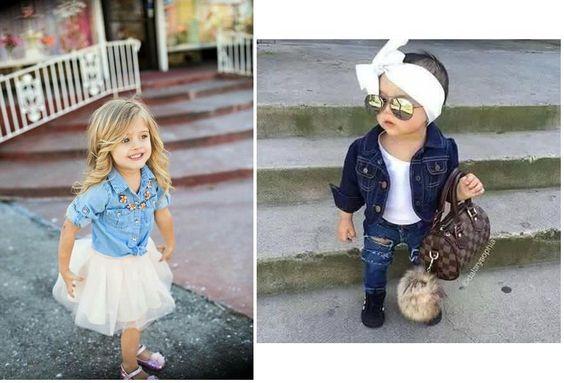 Ideas para vestir a tu niña 'muy fashion'