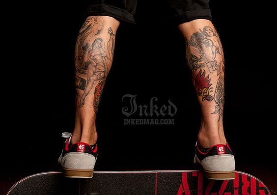 LEG INK. Cute sneakies!!!