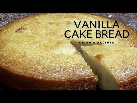 Vanilla Cake Bread Lg Convection Microwave Oven Eggless