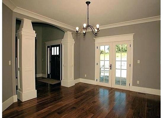 Dark Hardwood Floors Grey Walls Dark Floors Grey Hardwood