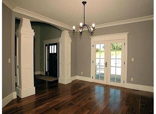 Helle Holzboden Mit Grauen Wanden Modernes Konzept Dunkle Holzboden Graue Wande Dunkle Graue Grauen In 2020 Grey Walls Light Wood Floors Dark Brown Wood Floors
