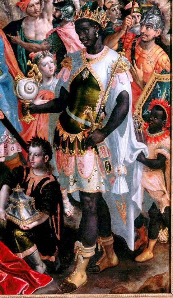 Moors in Rome- We come from royalty