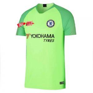 Chelsea FC Green Jersey,Chelsea Green Away Kit,Size:16 17