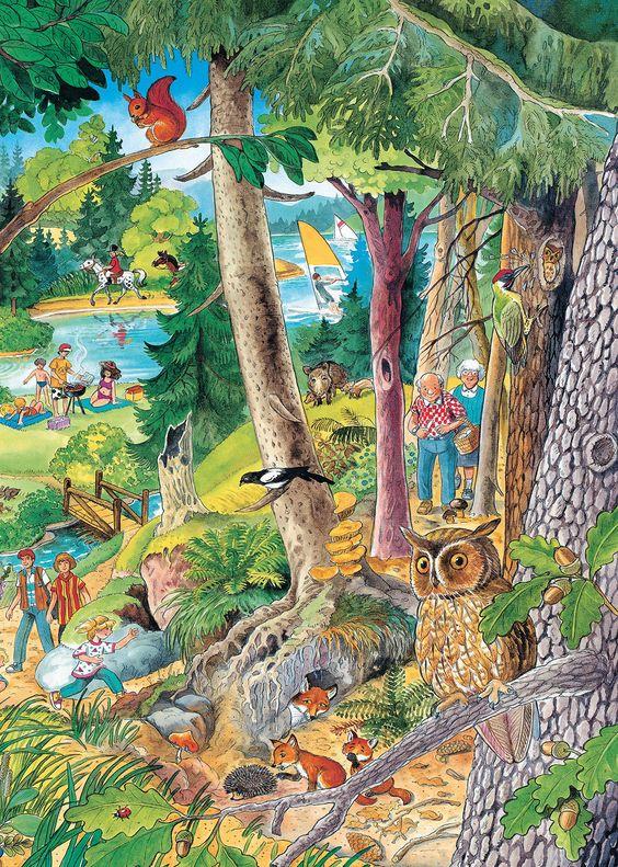 Das große Wimmelbuch: Amazon.de: Anne Suess: Bücher