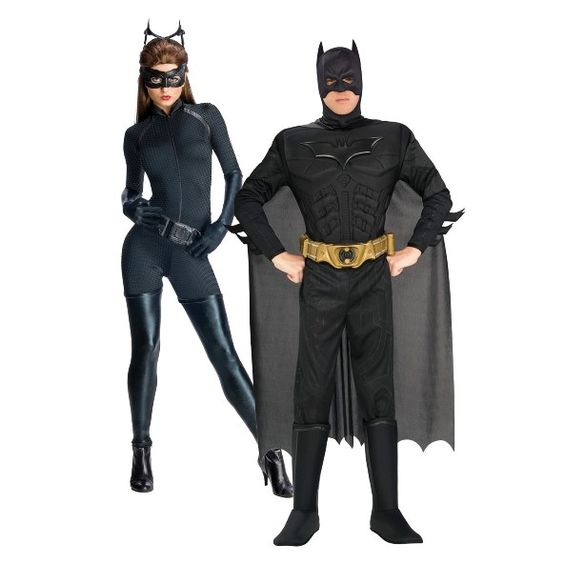These Sanskari Women Dressed Up For Halloween Will Scare: Batman And Catwoman Couple Costumes,Group Halloween