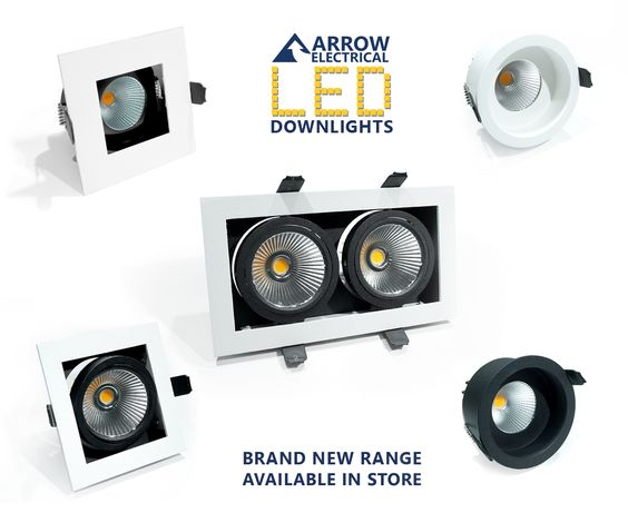 'Introducing the Brand New IP44-rated recessed LED Downlight range from Arrow Electrical. Choose from glare-reducing Baffle downlights and multi-directional tilt spotlights – available in store and online! Click here: http://www.arrowelectricals.co.uk/ceiling-lights-c1/led-downlights-c82/arrow-m1#t213:t67
