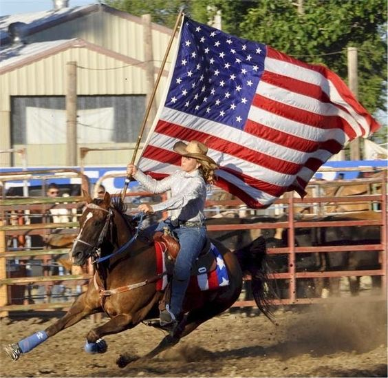 american flag and rodeo images - Google Search