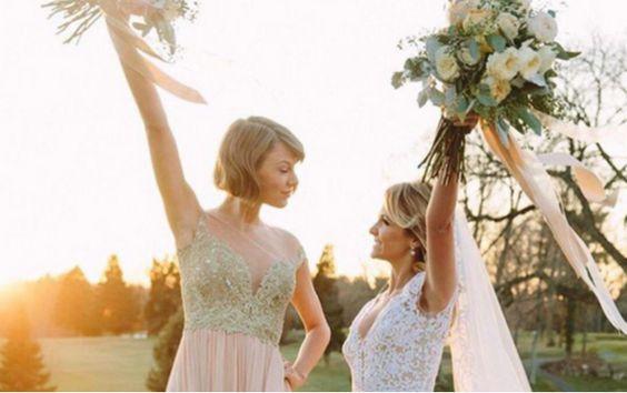 Die perfekte Trauzeugin: Taylor Swift macht's vor