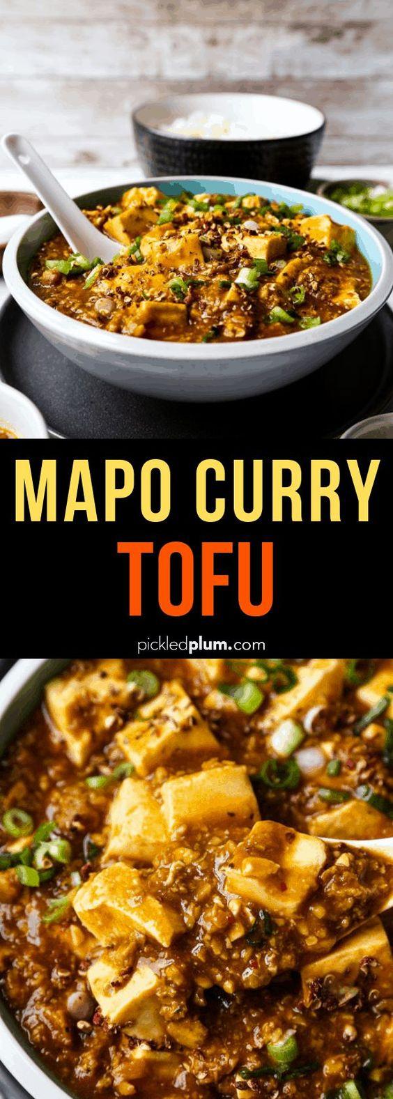 Mapo Curry Tofu (麻婆カレー豆腐️)