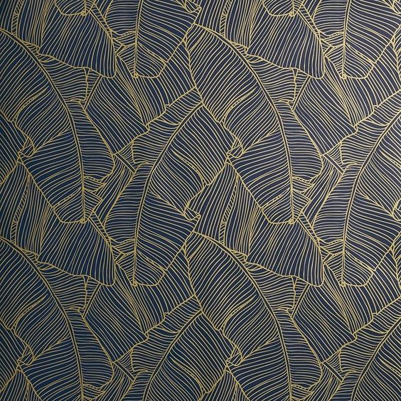 Cb2 Palm Navy And Gold Self Adhesive Wallpaper 100 HD Wallpapers Download Free Images Wallpaper [1000image.com]