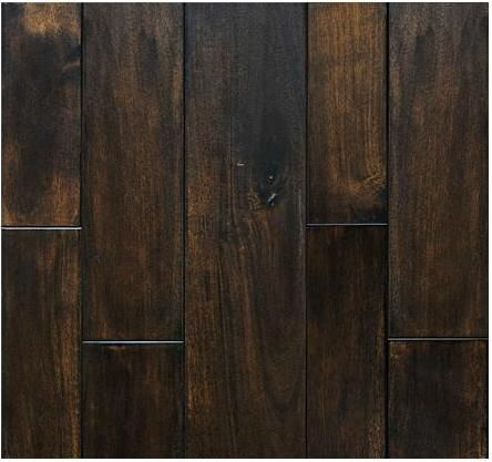 Dark Wood Floor Acacia Engineered Flat Hardwood Flooring Dark Walnut Stain 5 Dream Guest