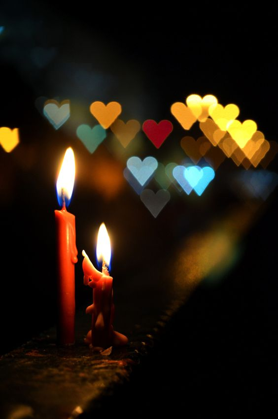 """Mom and Dad - your lights shine forever in hearts of those who love you! / Photo """"Bokeh of Love!"""" by Jane Chuah"""