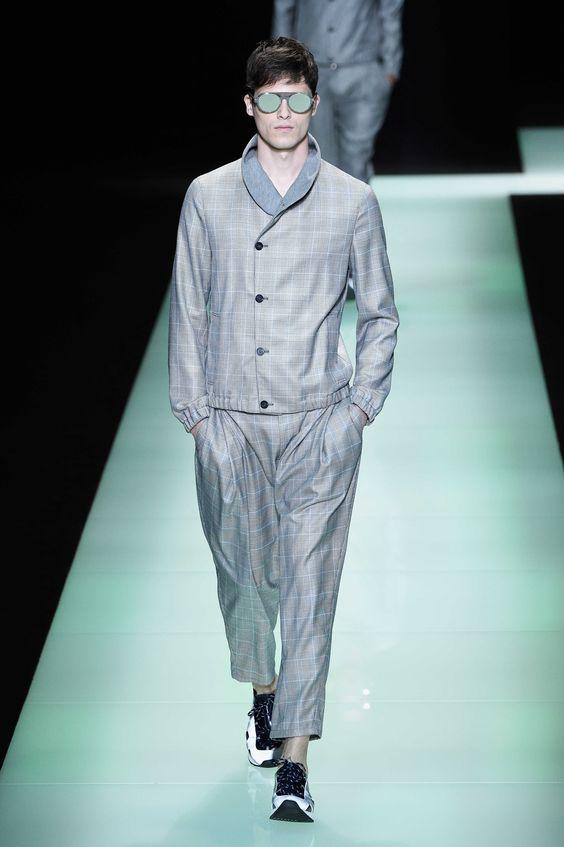 Emporio Armani Spring Summer 2016 Primavera Verano Collection #Menswear #Trends #Tendencias #Moda Hombre- Milan Fashion Week - D.P.