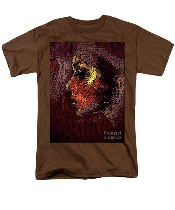 Men's T-Shirt (Regular Fit) - Studio Portrait In Pencil 60