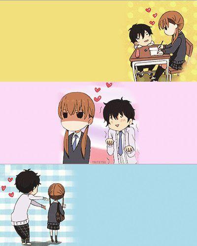 Tonari No Kaibutsu-kun Oh Haru...you're annoying Shizuku..: