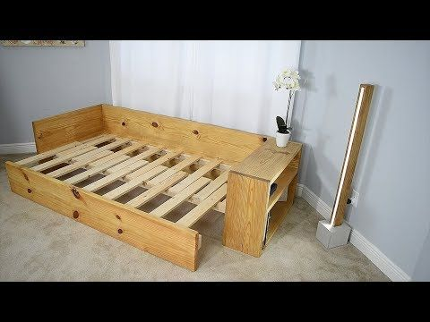 Diy Sofa Bed Turn This Sofa Into A Bed Youtube Diy Sofa Bed Diy Sofa Homemade Sofa