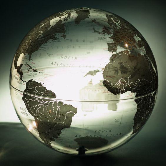 I love globes and old world maps. Strange--considering I am the most geographically-challenged person you will ever meet.