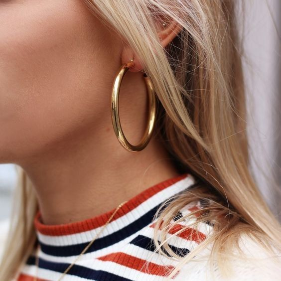 Jewelry | Gold | Earrings | Inspiration | More on Fashionchick