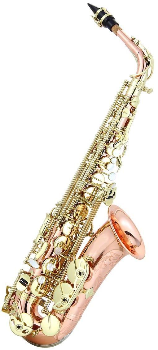 Ravel Paris Rose Brass Professional Eb Alto Saxophone.....loves.....
