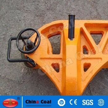 chinacoal03 Hydraulic Rail Straightener/Hydraulic Rail Bender/Rail Straightener YZ - 750 Ⅱ type hydraulic straight rail apparatus suitable for tracks the road 43 kg/ m ~ 75 kg / m various rail type transverse alignment (or bending) manual hydraulic special tool.