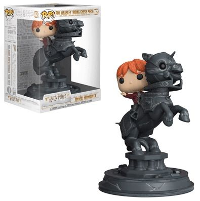 >82 Ron Weasley Riding Chess Piece Funko Pop