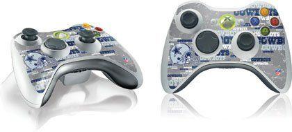 Skinit Dallas Cowboys - Blast Vinyl Skin for 1 Microsoft Xbox 360 Wireless Controller by Skinit. Save 20 Off!. $11.99. IMPORTANT: Skinit skins, stickers, decals are NOT A CASE. Our skins are VINYL SKINS that allow you to personalize and protect your device with form-fitting skins. Our adhesive backing can be applied and removed with no residue, no mess and no fuss. Skinit skins are engineered specific to each device to take into account buttons, indicator lights, speakers, unique curvature…
