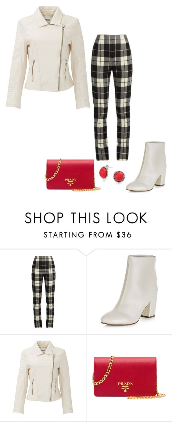 """Untitled #4213"" by bbossboo ❤ liked on Polyvore featuring MaxMara, New Look, BB Dakota, Prada and Bling Jewelry"