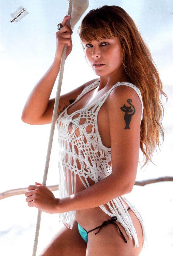 Amanda Rosa - Revista H extremo marzo 2015