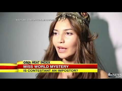 Miss World Pageant Mystery Miss Uzbekistan May Be a Fake - YouTube