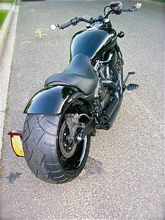 Warriors roads and chopper on pinterest for Yamaha road warrior