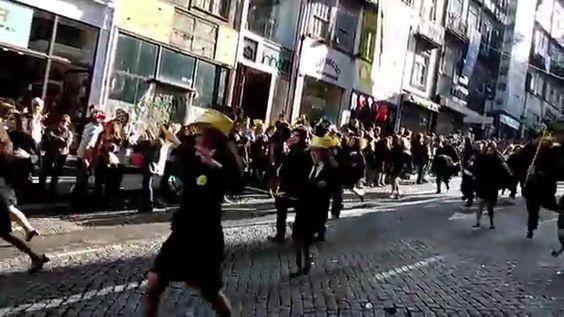 cortejo queima das fitas ICBAS Porto 2015
