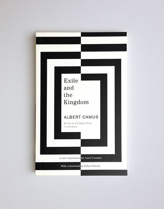 Exile and the Kingdom // Albert Camus / design Helen Yentus / publisher Vintage Books