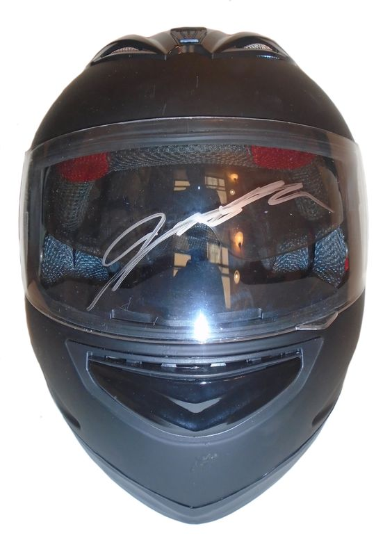 #24 Jeff Gordon autographed full size helmet w/ proof photo.  Proof photo of Jeff signing will be included with your purchase along with a COA issued from Southwestconnection-Memorabilia, guaranteeing the item to pass authentication services from PSA/DNA or JSA.  Free USPS shipping. http://www.autographedwithproof.com/ is your one stop for autographed collectibles from the biggest stars of nascar and motorsports. Check back with us often, as we are always obtaining new items.