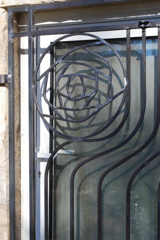 Decorative Panels Wrought Iron And Railings On Pinterest