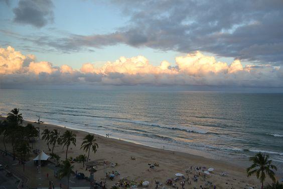 Boa Viagem, Recife, Brasil.