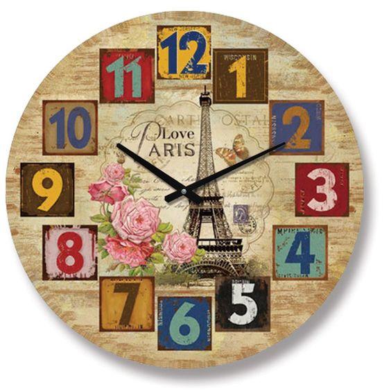 Paris Antik Ahşap Yuvarlak Duvar Saati, Paris Antik Ahşap Yuvarlak Duvar Saati Ürün Bilgisi ;Ürün maddesi : MDF Gövde Ebat : 60 cm Büyük boy Mekanizması : Akar saniye, sessiz çal