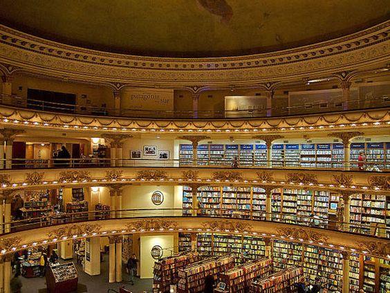 Belas livrarias para visitar