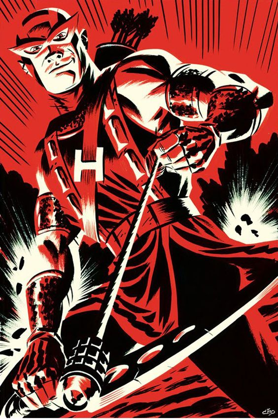 Brace yourself for the kick-ass superhero illustrations of Michael Cho