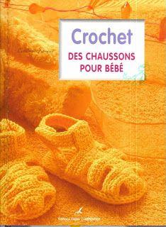 REVISTAS DE MANUALIDADES GRATIS: Zapatitos a crochet para bebes