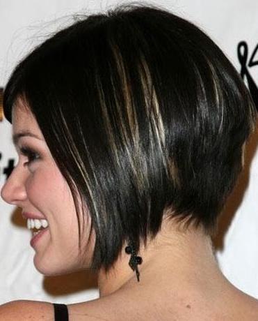 Asymmetrical Bobs On African American Hair Layered B