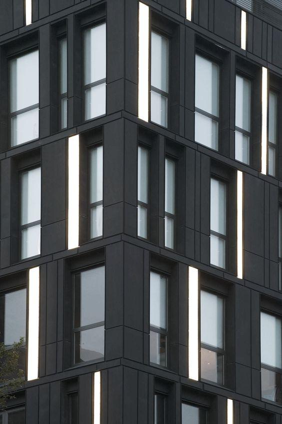Porter house shop architects patina cladding for Exterior facade design