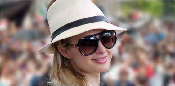 Paris Hilton in Designer Sunglasses