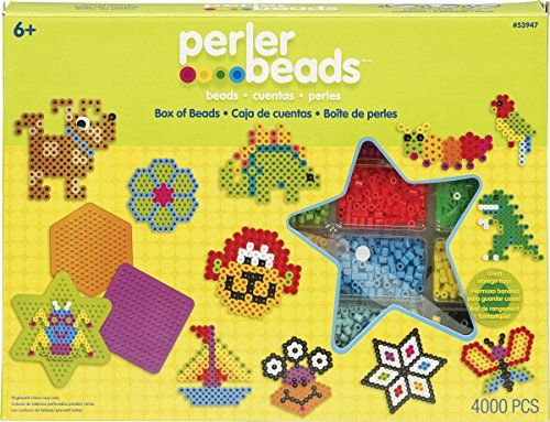 • el catálogo global de ideas fuse beads perler fun fusion fuse bead activity kit box of beads >>