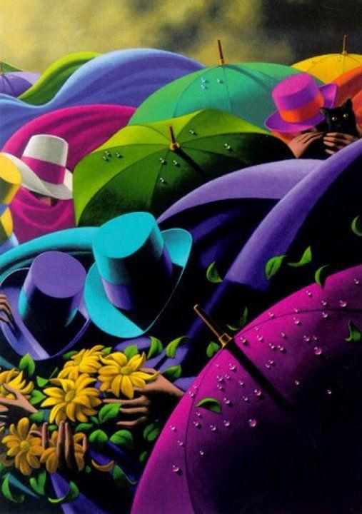 Días de lluvia y hojas: Lluvía de color                                                                                                                                                     Más